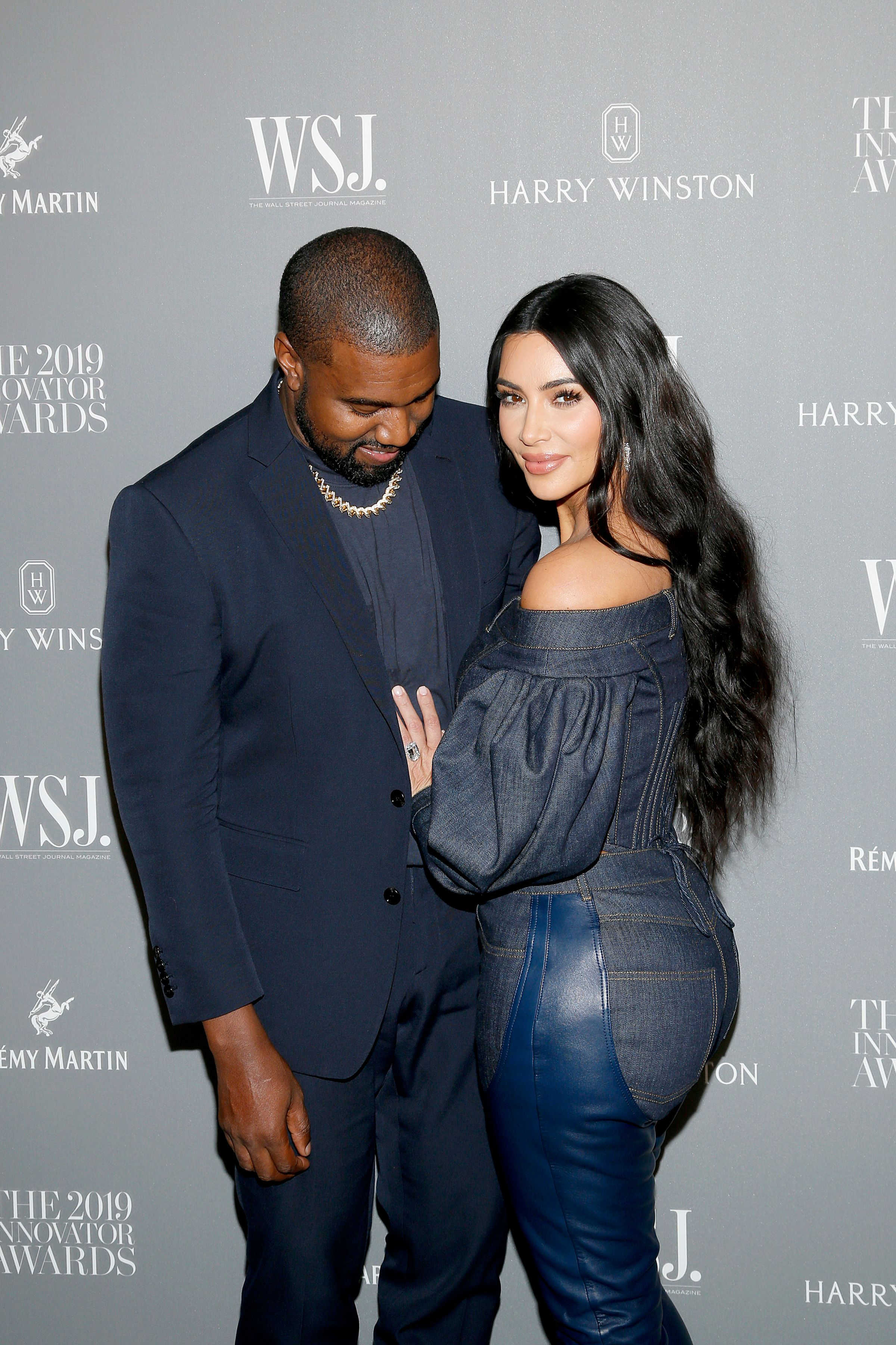 Kanye West and Kim Kardashian West at the WSJ Magazine 2019 Innovator Awards on November 06, 2019 | Source: Getty Images