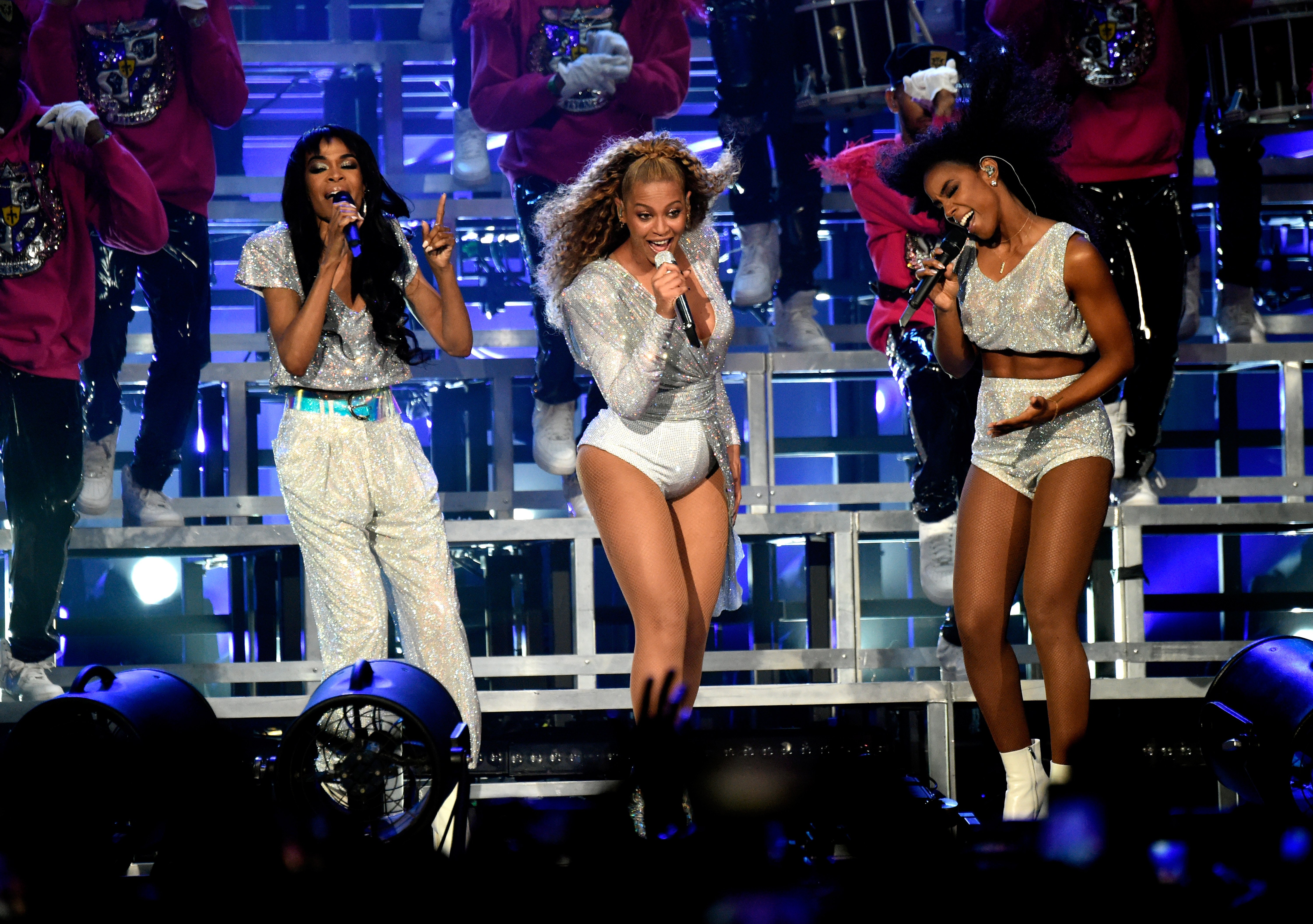 Michelle Williams, Beyoncé Knowles and Kelly Rowland of Destiny's Child perform onstage during the 2018 Coachella Valley Music And Arts Festival on April 21, 2018. | Photo: GettyImages