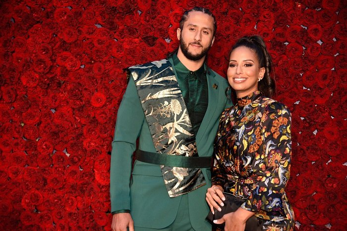 Colin Kaepernick and Nessa Diab attend Tyler Perry Studios' grand opening gala at Tyler Perry Studios on October 05, 2019 in Atlanta, Georgia.| Image: Getty Images