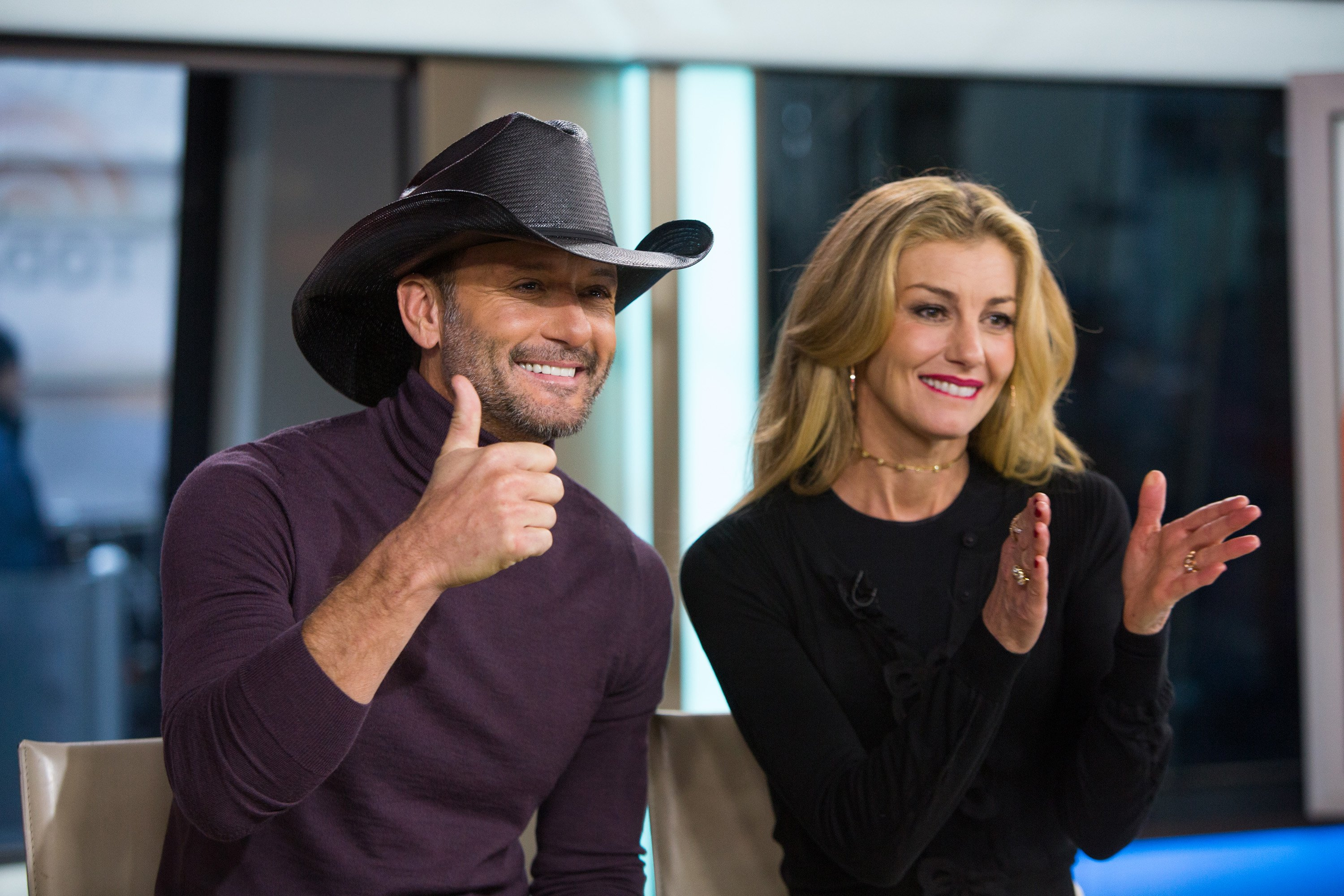 Tim McGraw and Faith Hill pictured on Friday, November 17, 2017.  Source: Getty Images.