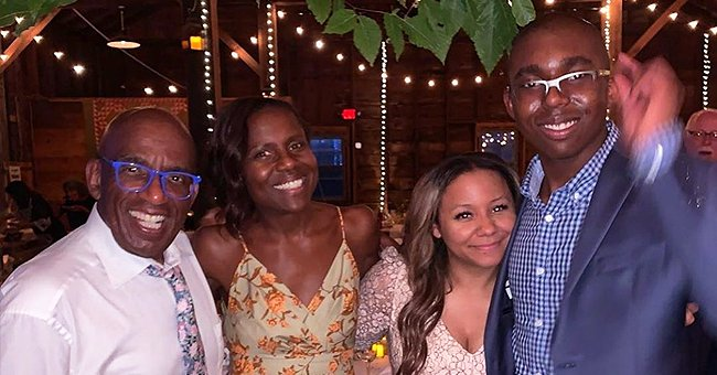 Al Roker's Only Son Nicholas Towers over the Rest of His Family in New Picture