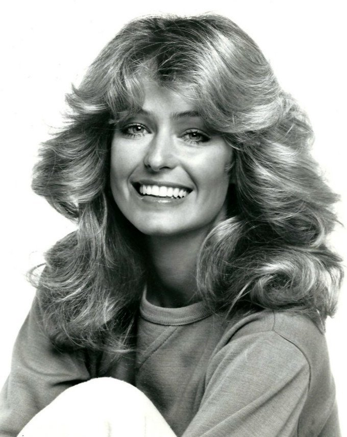 """Farrah Fawcett for """"Charlie's Angels"""" in 1977 