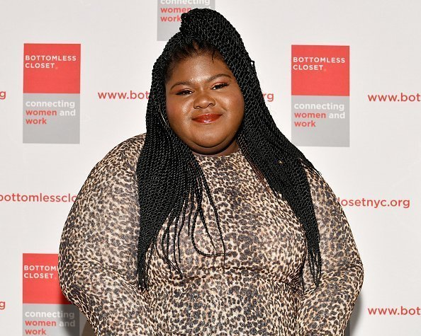 Gabourey Sidibe at the 20th Anniversary Bottomless Closet Luncheon at Cipriani 42nd Street on May 15, 2019 in New York City. | Photo: Getty Images