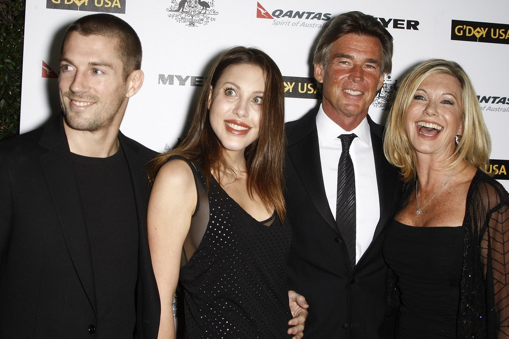 Crosby Loggins, Chloe Lattanzi, Olivia Newton John, John Easterling at the 2011 G'Day USA Australia Week LA Black Tie Gala in Los Angeles | Source: Shutterstock
