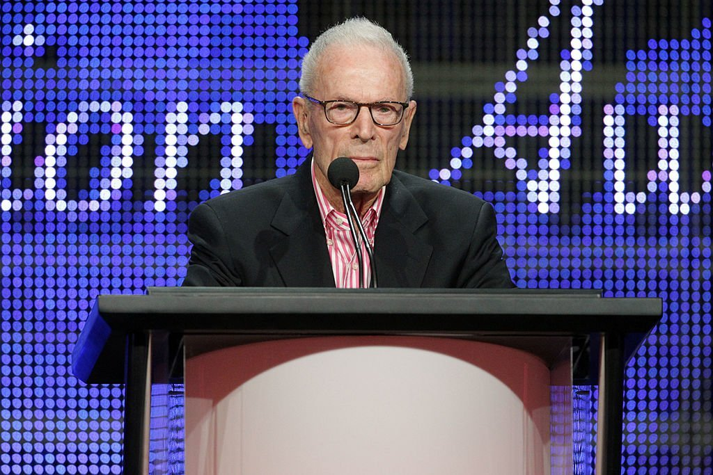 "Gene Reynolds accepts the ""Heritage Award"" for ""MASH"" onstage during the 26th Annual Television Critics Association Awards on July 31, 2010 