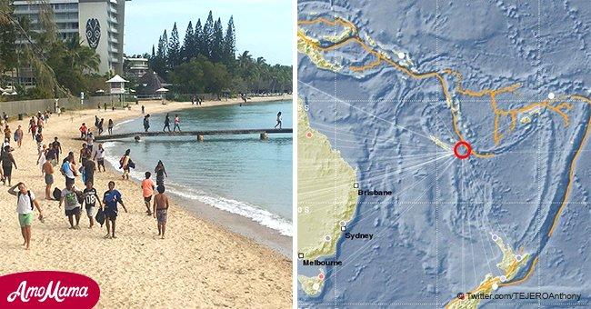 Des tremblements de terre d'une magnitude de 7,5 près de la Nouvelle-Calédonie ont fait craindre un éventuel tsunami