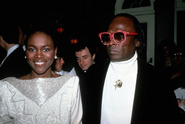 Cicely Tyson and Miles Davis circa 1983 in New York City.| Photo: Getty Images.