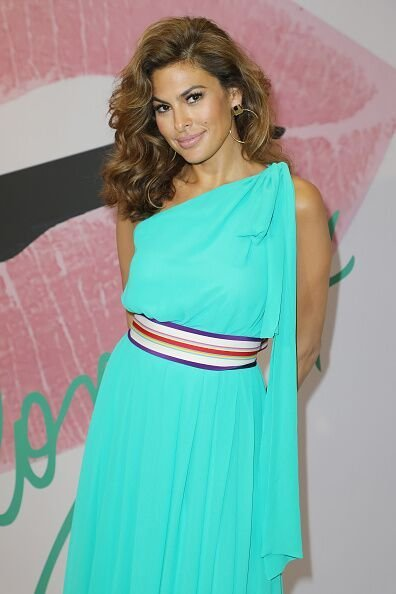 Eva Mendes is seen celebrating the New York & Company store opening. | Source: Getty Images