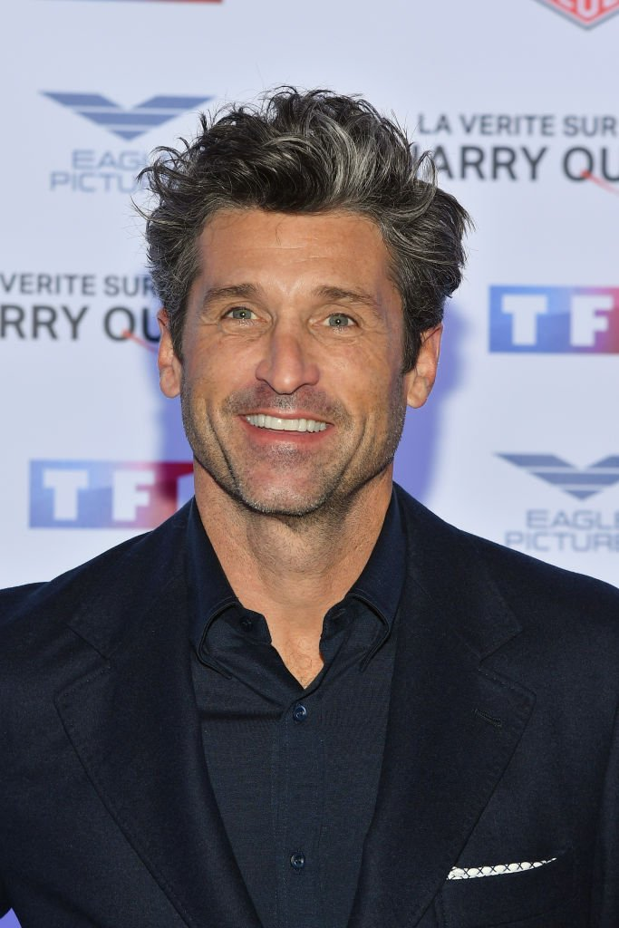 """Patrick Dempsey attends """"The Truth About The Harry Quebert Affair"""" Premiere at Cinema Gaumont Marignan on November 12, 2018 in Paris, France 