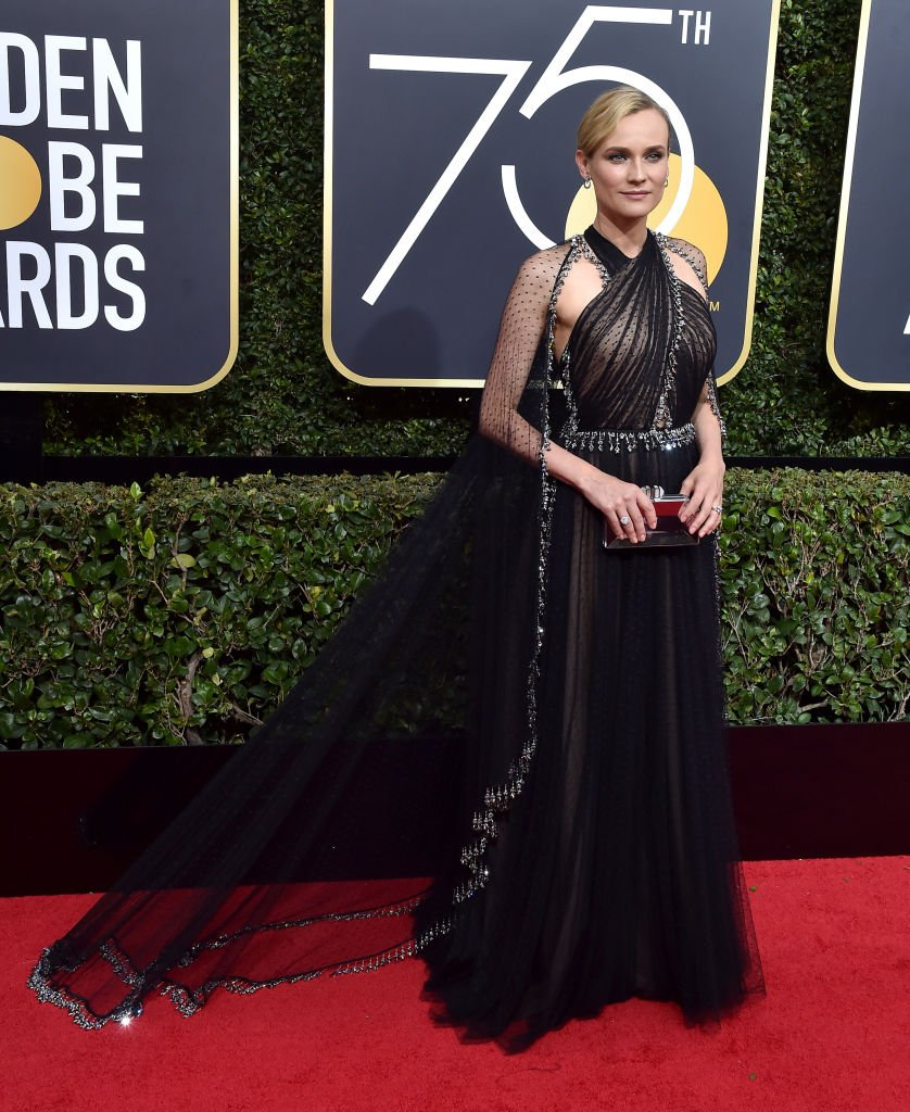 Diane Kruger attends the 75th Annual Golden Globe Awards at The Beverly Hilton Hotel on January 7, 2018 | Photo: Getty Images