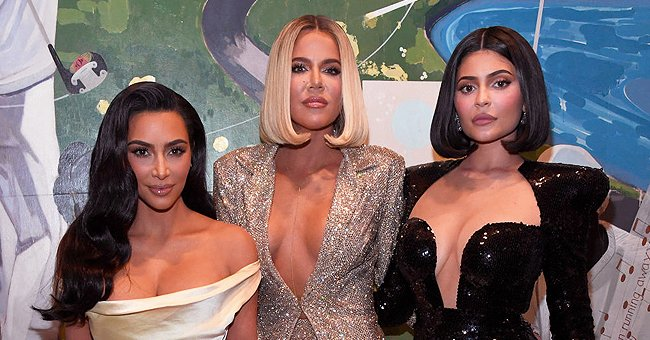 Kardashian-Jenner Granddaughters Chicago, Stormi & True Pose In Cute Dresses — Do They Look Like Triplets?