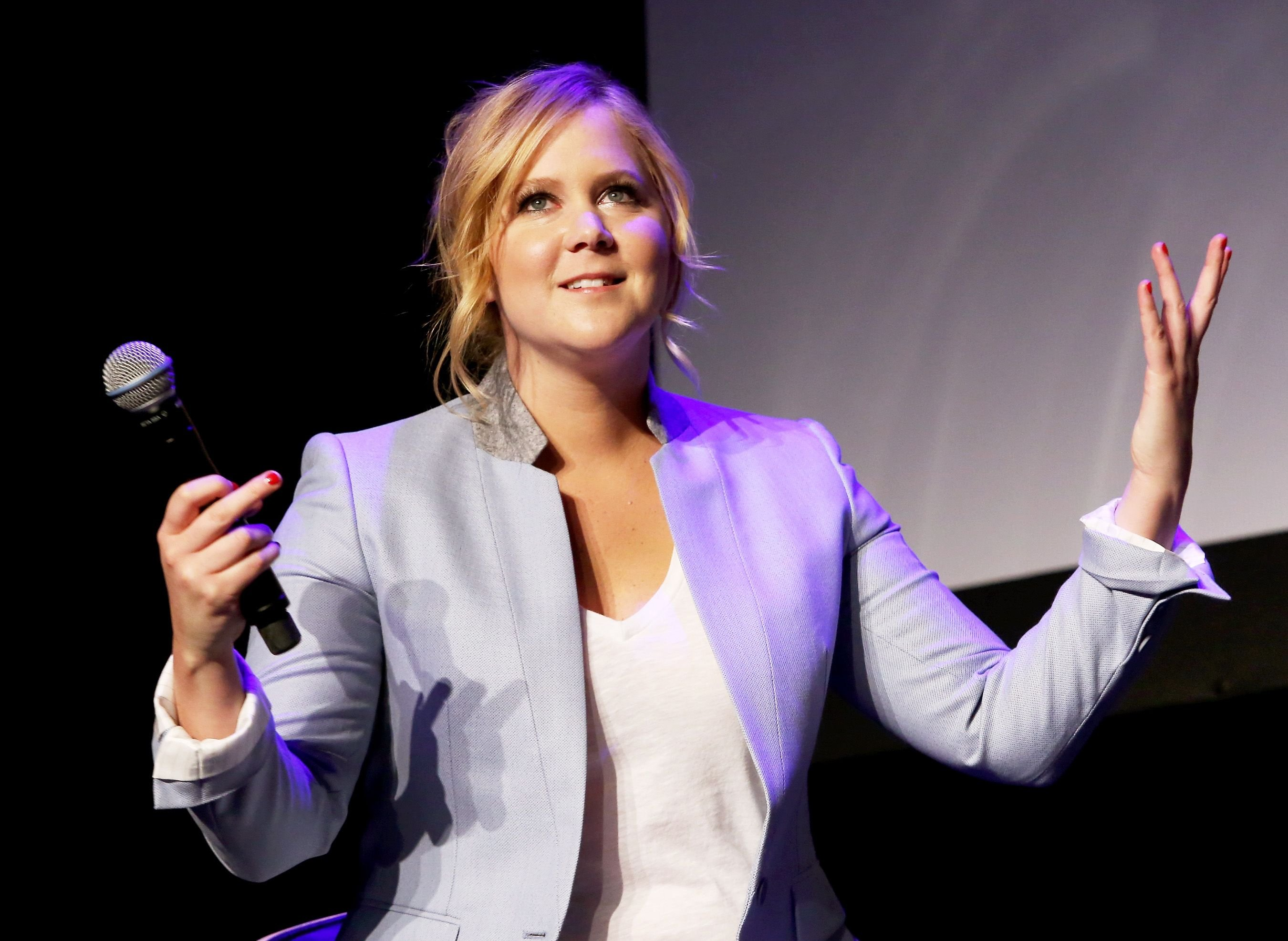 Amy Schumer at Tribeca Talks: After the Movie: Inside Amy Schumer at the 2015 Tribeca Film Festival on April 19, 2015, in New York City. | Source: Getty Images