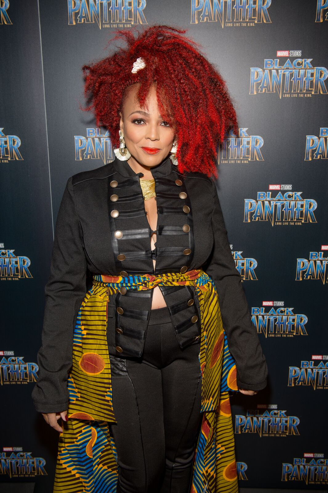 """Kim Fields attends the Marvel Studios """"Black Panther"""" Atlanta movie screening at The Fox Theatre on February 7, 2018 