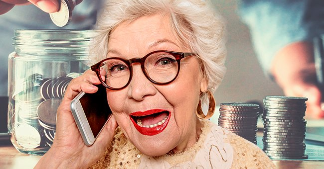 Daily Joke: An Old Lady Tried to Call Her Local Bank