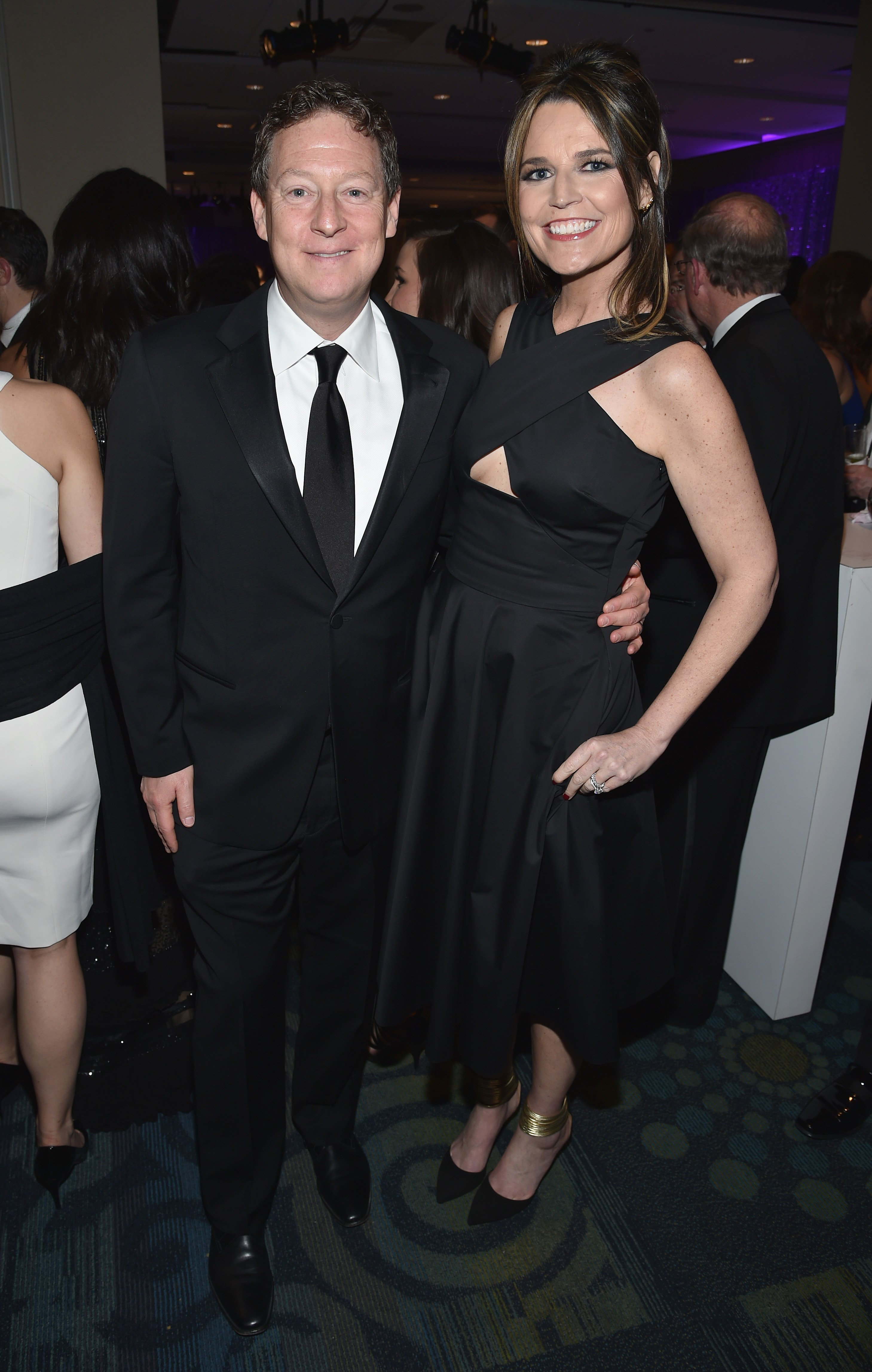 Savannah Guthrie and Michael Feldman attend the Yahoo News/ABC News White House Correspondents' Dinner Pre-Party at Washington Hilton on April 30, 2016 | Photo: GettyImages