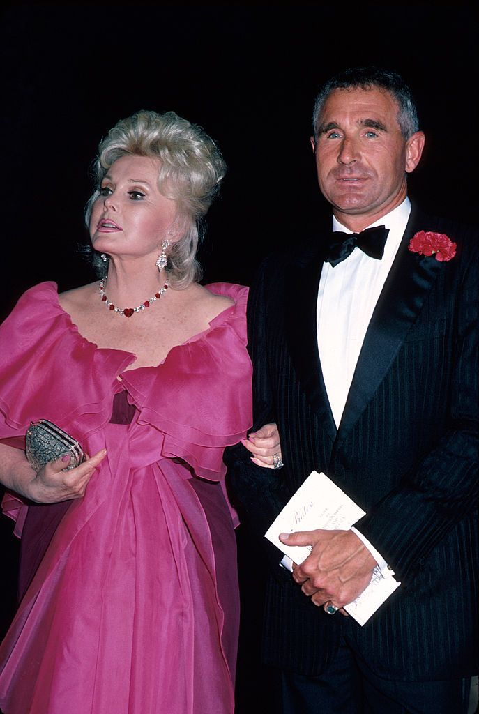 Zsa Zsa Gabor and her husband Príncipe Frederic Von Anhalt   Photo: Getty Images