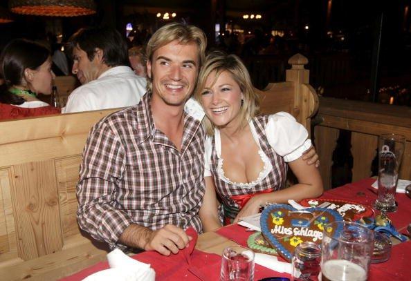 Helene Fischer und Florian Silbereisen, GoldstarTV Wiesn Treff, 2009 | Quelle: Getty Images
