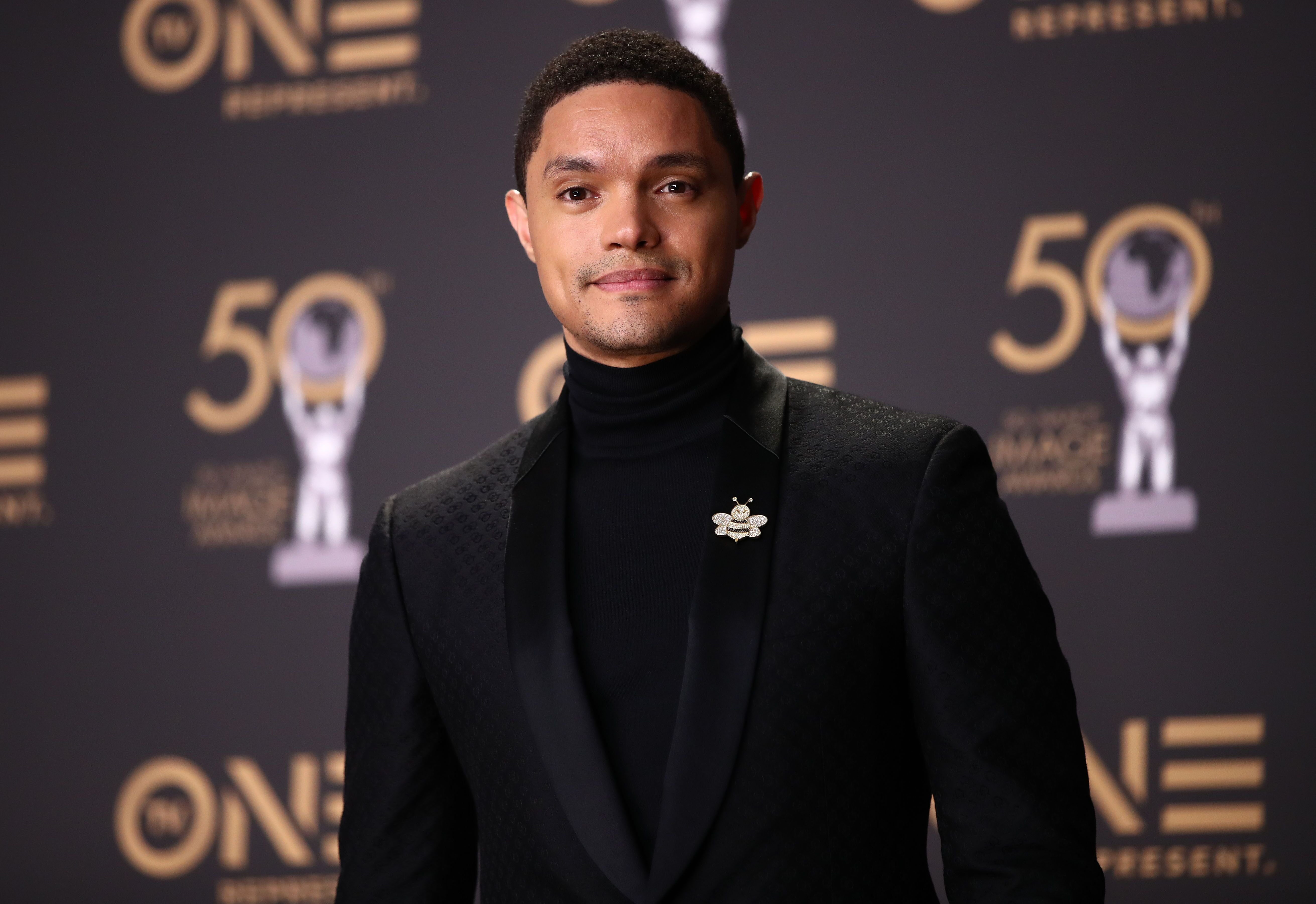Trevor Noah attends the 50th NAACP Image Awards at Dolby Theatre on March 30, 2019 in Hollywood, California. | Source: Getty Images