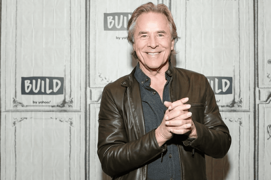 Don Johnson am 21.11. 19 in New York. | Quelle: Getty Images