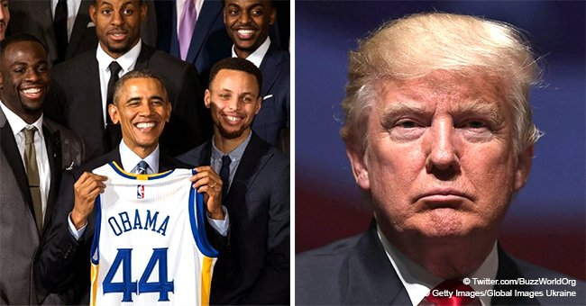 Golden State Warriors privately visit Barack Obama instead of President Trump during DC trip