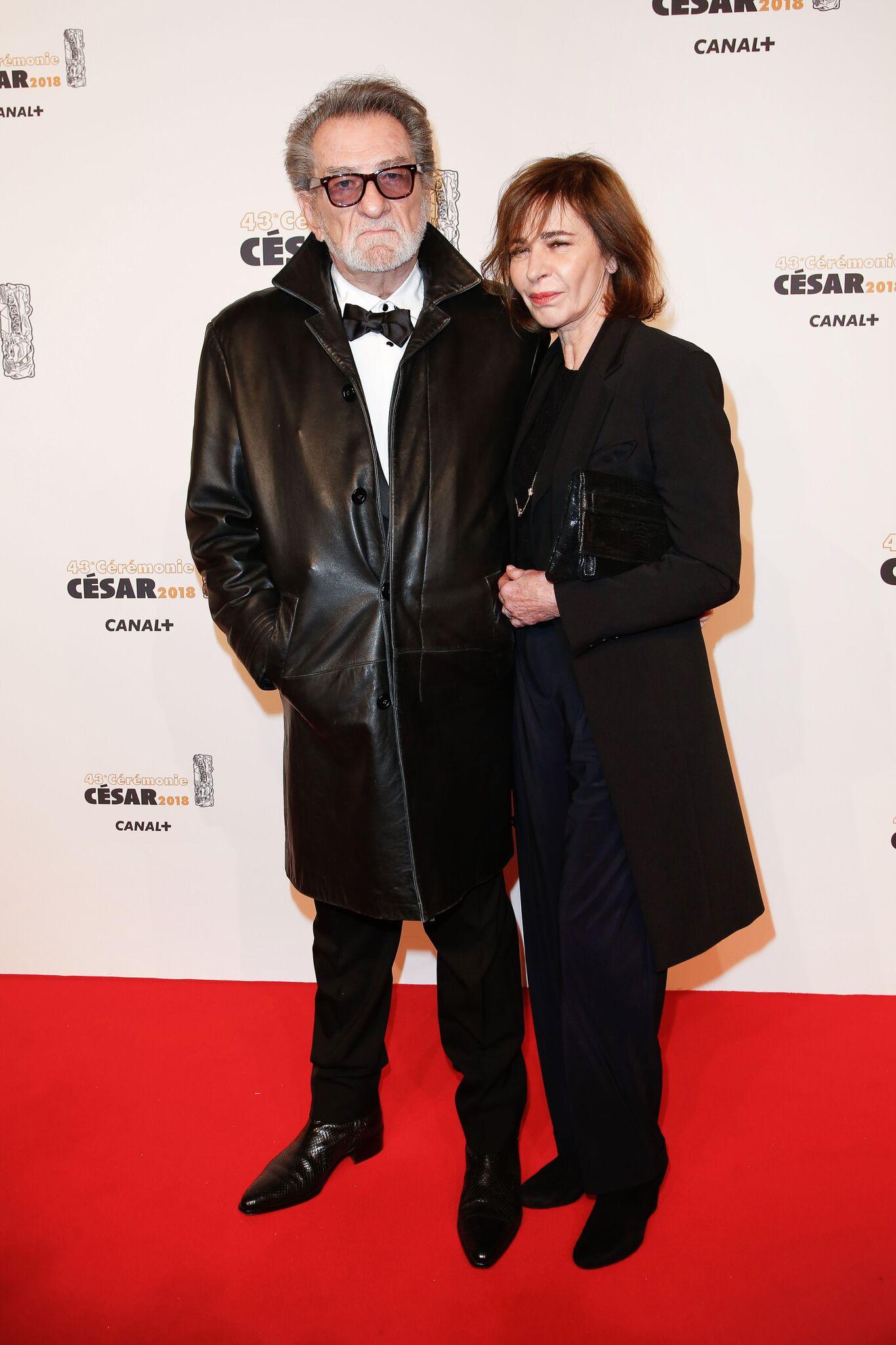 Eddy Mitchell et sa femme Muriel Baille. l Source: Getty Images