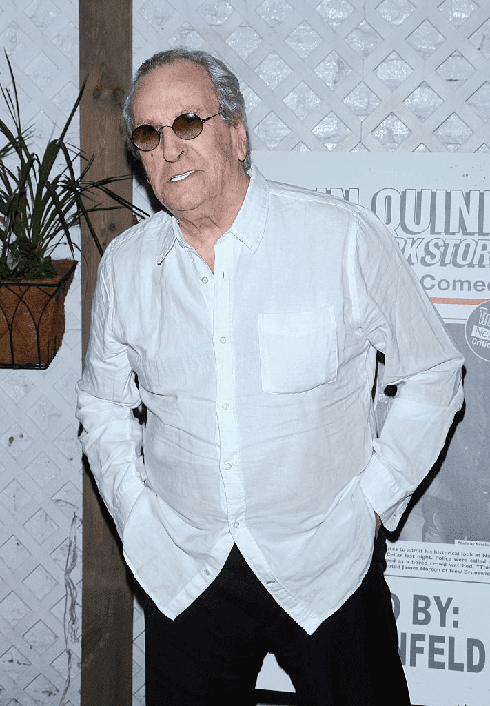 "NEW YORK, NY - 23 JUILLET : L'acteur Danny Aiello assiste à la soirée d'ouverture de ""Colin Quinn: The New York Story"" à la Duet Brasserie le 23 juillet 2015 à New York. 
