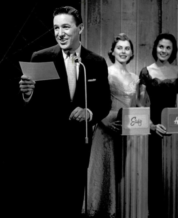 """Mike Wallace, Sue Oakland and Mary Gardiner on """"The Big Surprise"""" circa 1956 