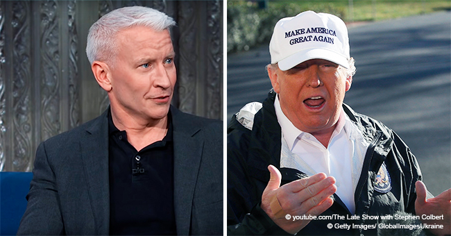 Anderson Cooper Mocks Trump's Border Wall, Asking If It Exists 'Somewhere in Deep Outer Space'