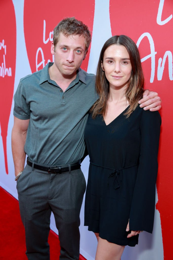 """Jeremy Allen White and Addison Timlin at the Los Angeles Premiere of """"Love, Antosha"""" at ArcLight Cinemas on July 30, 2019. 