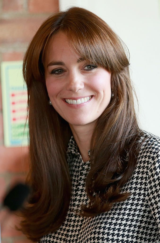 Duchess of Cambridge, Kate Middleton she visits the Anna Freud Centre on September 17, 2015 | Photo: Getty Images in London, England