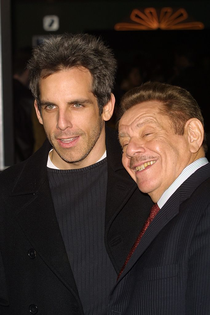 "Jerry und Ben Stiller, Premiere von ""The Independent"", West Hollywood, 2001 