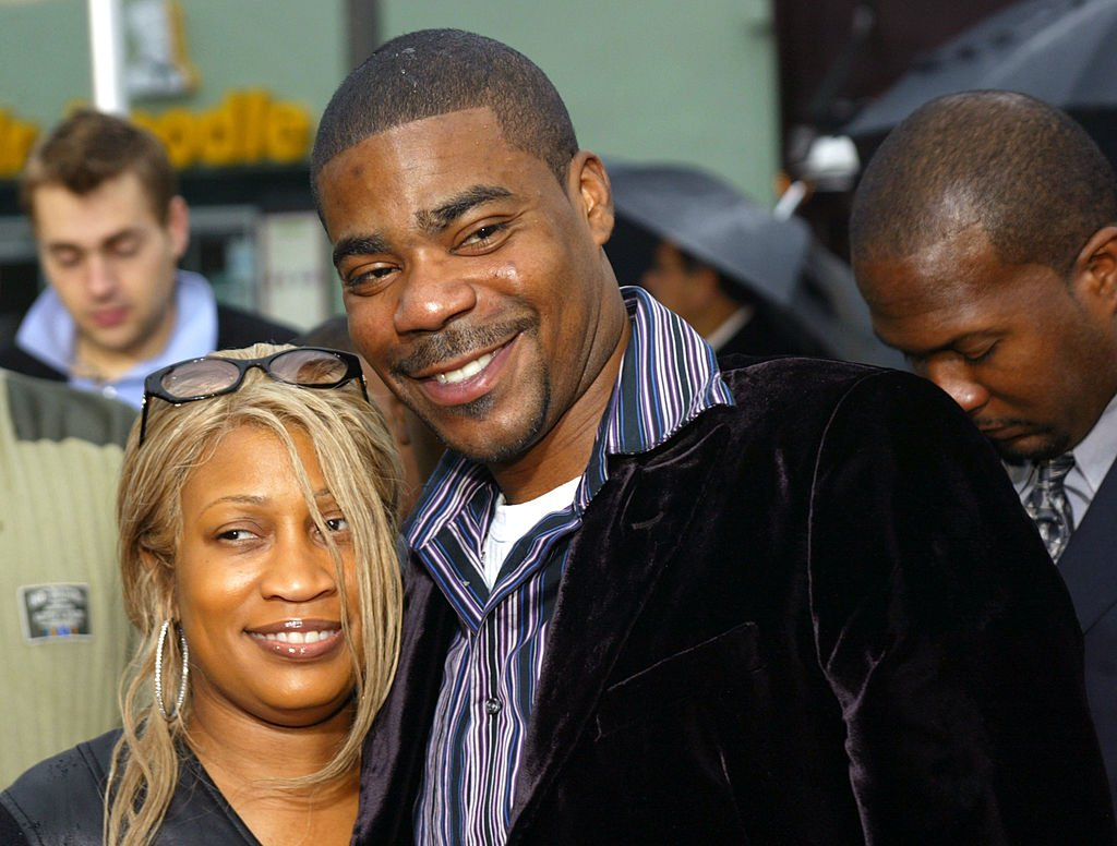 "Tracy Morgan and his first wife, Sabina during the premiere of ""Are We There Yet?"" in January 2005. 