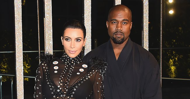 Kim Kardashian Shares Pics of Daughters North & Chicago after Kanye West's Tweet about Grammys
