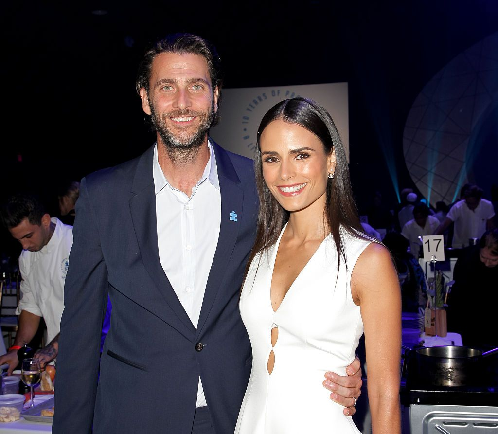 Andrew Form and Jordana Brewster at the Autism Speaks to Los Angeles Celebrity Chef Gala in 2015 in Santa Monica, California   Source: Getty Images