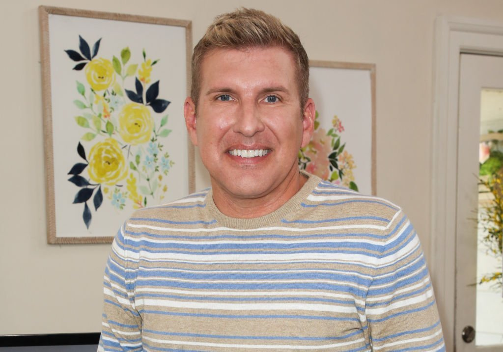 "Reality TV Personality Todd Chrisley visit Hallmark's ""Home & Family"" at Universal Studios Hollywood 