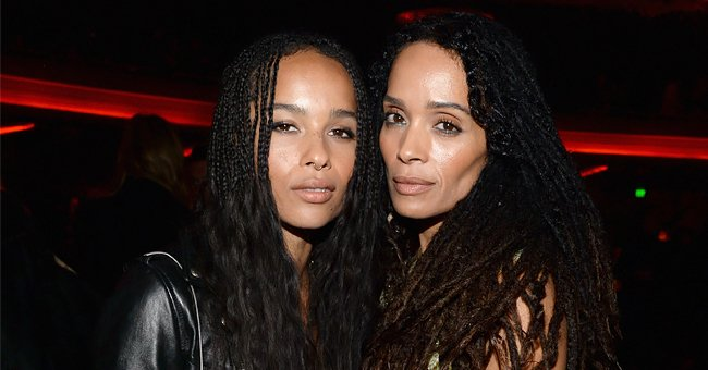 Check Out This Photo of Zoë Kravitz & Her Famous Mother Lisa Bonet — Do They Look like Twins?