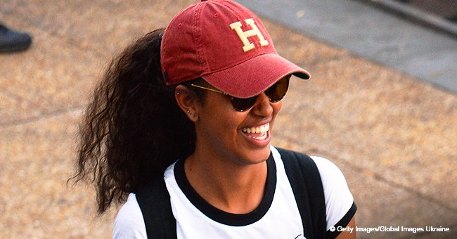 Malia Obama shows off her slim physique in white bikini while on holiday in recent photos