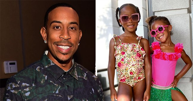Ludacris' Daughters Candace and Cai Strike Cute Poses in Swimsuits and Sunglasses (Photos)
