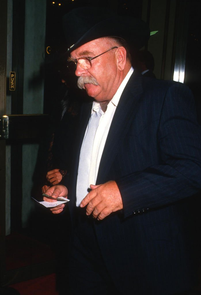 Wilford Brimley attends a salute to Merv Adelson by the Jewish Committee in Beverly Hills, California on October 25, 1987 | Photo: Getty Images