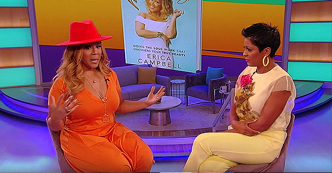 Erica Campbell of Mary Mary Gets Candid about Forgiving Her Husband's Infidelity on 'the Tamron Hall Show'
