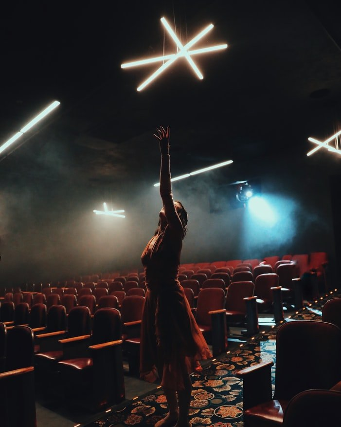Actress in a theater   Source: Unsplash