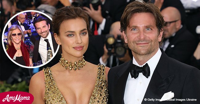 Bradley Cooper hizo inusual aparición pública con su hermosa mamá en los Premios SAG