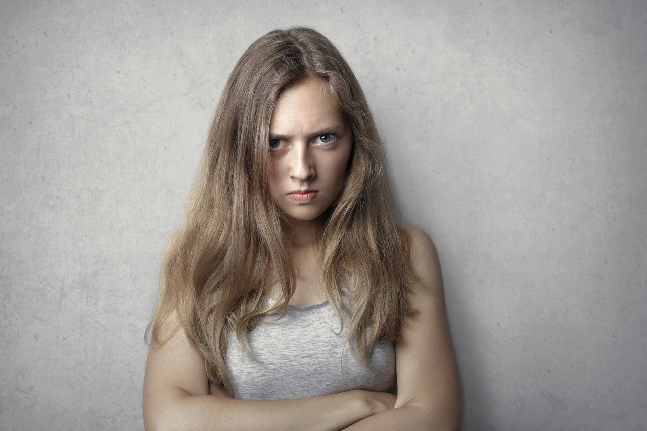 Photo of angry woman. | Source: Pexels/Andrea Piacquadio