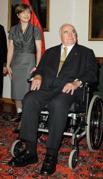 Helmut Kohl, Maike Richter-Kohl, 2010 | Quelle: Getty Images