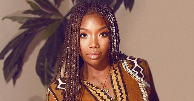 Brandy Norwood of 'Moesha' Fame Looks Youthful as She Shows off Her Natural Look and Long Braids in Selfie
