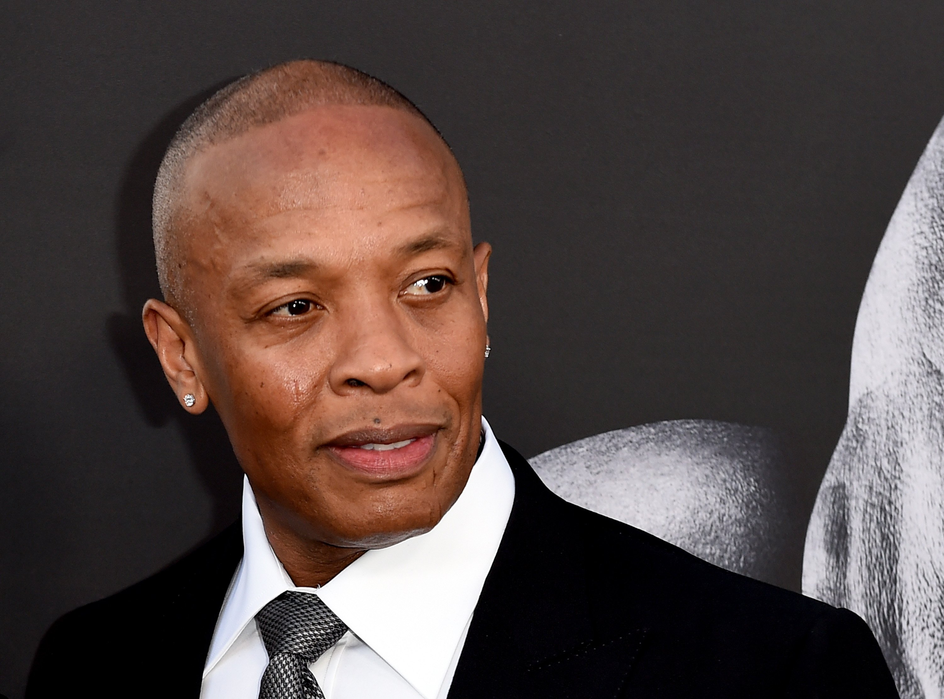 """Dr. Dre attends the premiere of """"The Defiant Ones"""" at Paramount Theatre on June 22, 2017 in Hollywood, California 