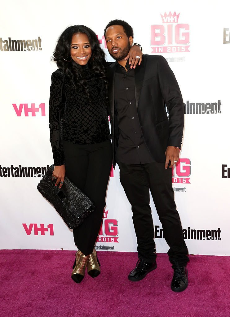 Yandy Smith and Mendecees Harris attending the VH1 Big in 2015 with Entertainment Weekly Awards at the pacific Design Center in West Hollywood on November 15, 2015. | Source: Getty Images