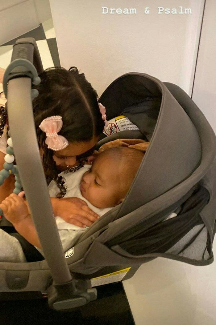Photo of Dream and Psalm | Source: Instagram/@Kimkardashian