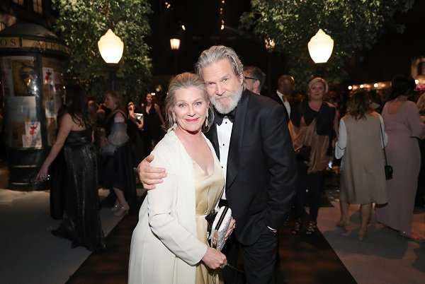 Jeff Bridges and Susan Geston on January 29, 2017 in Los Angeles, California | Source: Getty Images
