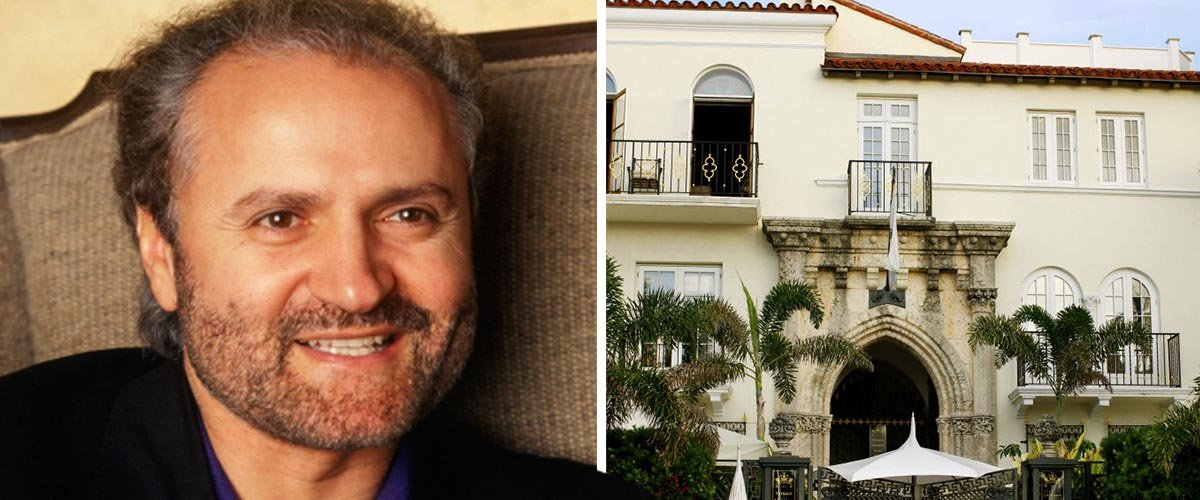 2 Men Found Dead at Versace Mansion a Day before 24th Anniversary of Gianni Versace's Murder